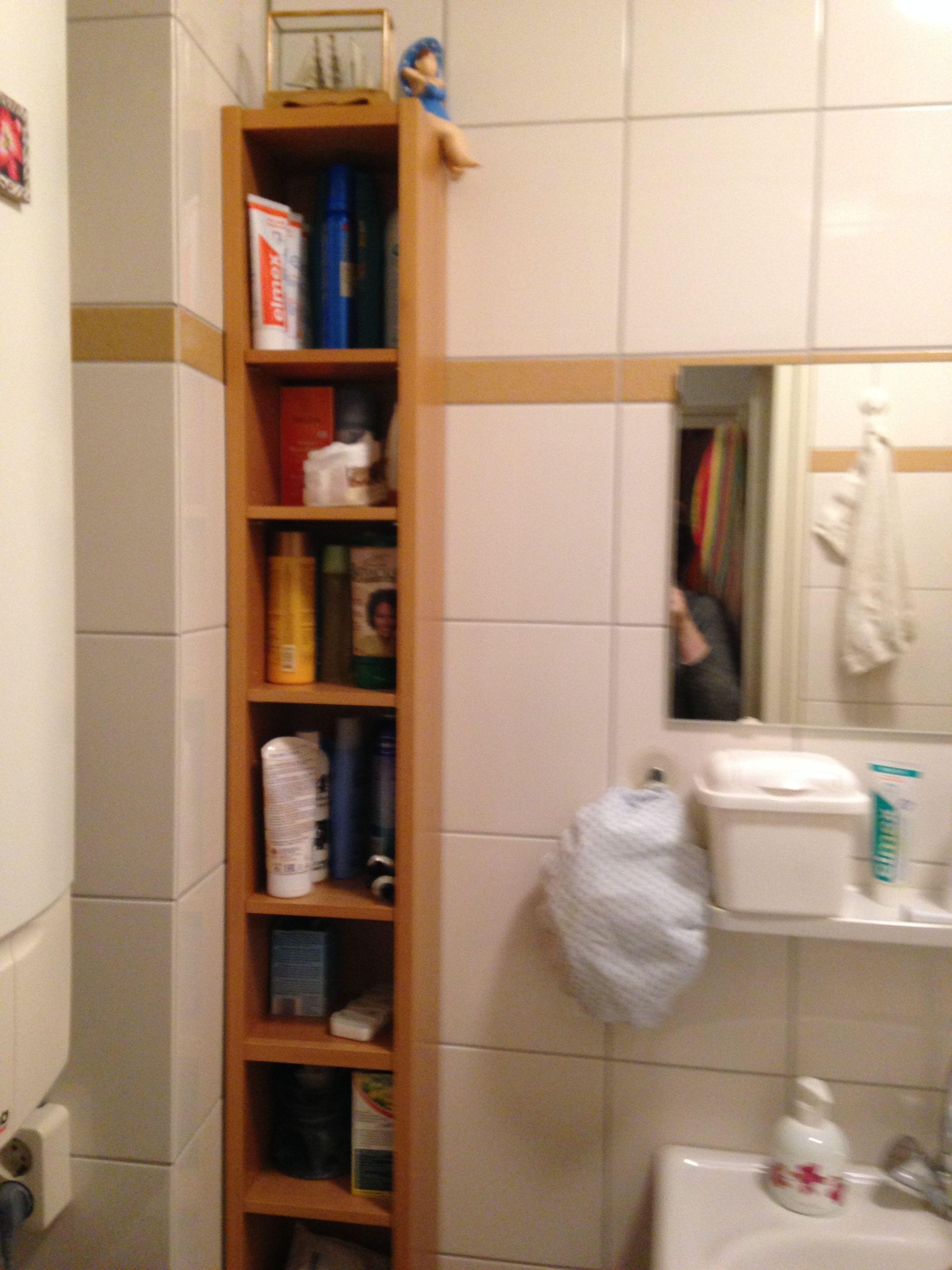 Kleine badkamer? Ikea GNEDBY wandmeubel met verstelbare plankjes ...