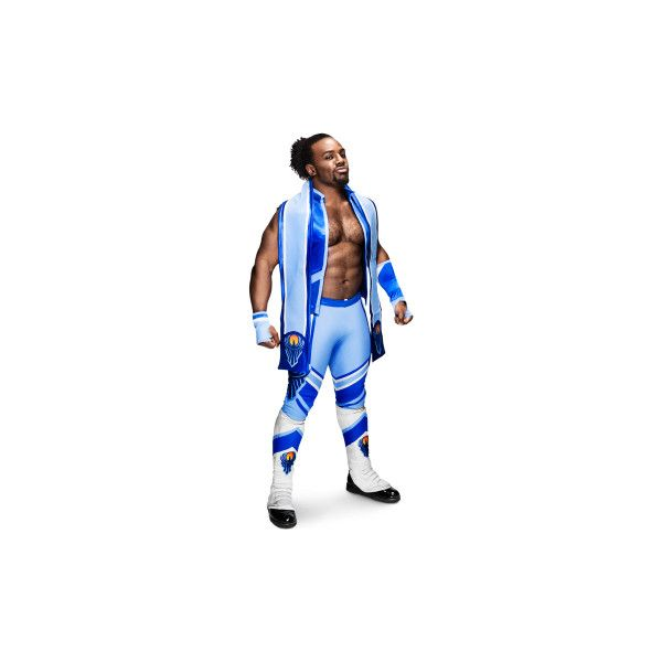 Xavier Woods ❤ liked on Polyvore featuring wwe, people and superstars