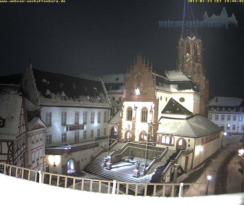 Aschaffenburger Stiftskirche Livebild Aschaffenburg