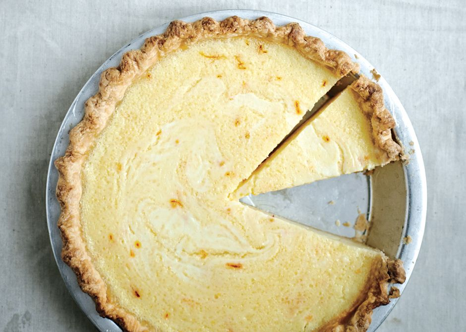 Lemon Buttermilk Pie With Saffron Recipe Bon Appetit Desserts Lemon Desserts Buttermilk Pie