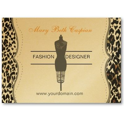 Fashion Dummy Tailoring Sewing Profile Business Card Zazzle Com In 2020 Visiting Card Design Modern Business Cards Card Design