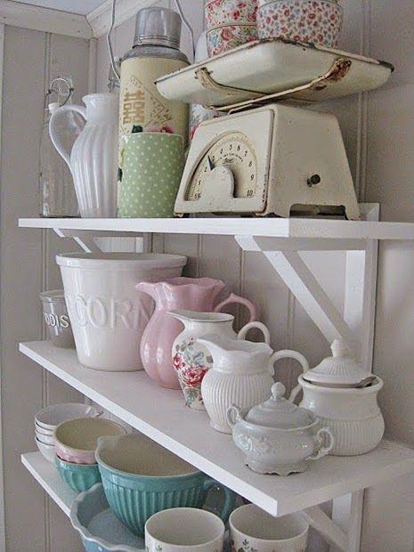 Inspiracje W Moim Mieszkaniu: Pastelowe Kuchenne Bibeloty I Dodatki / Pastel  Kitchen Trinkets And Accessories