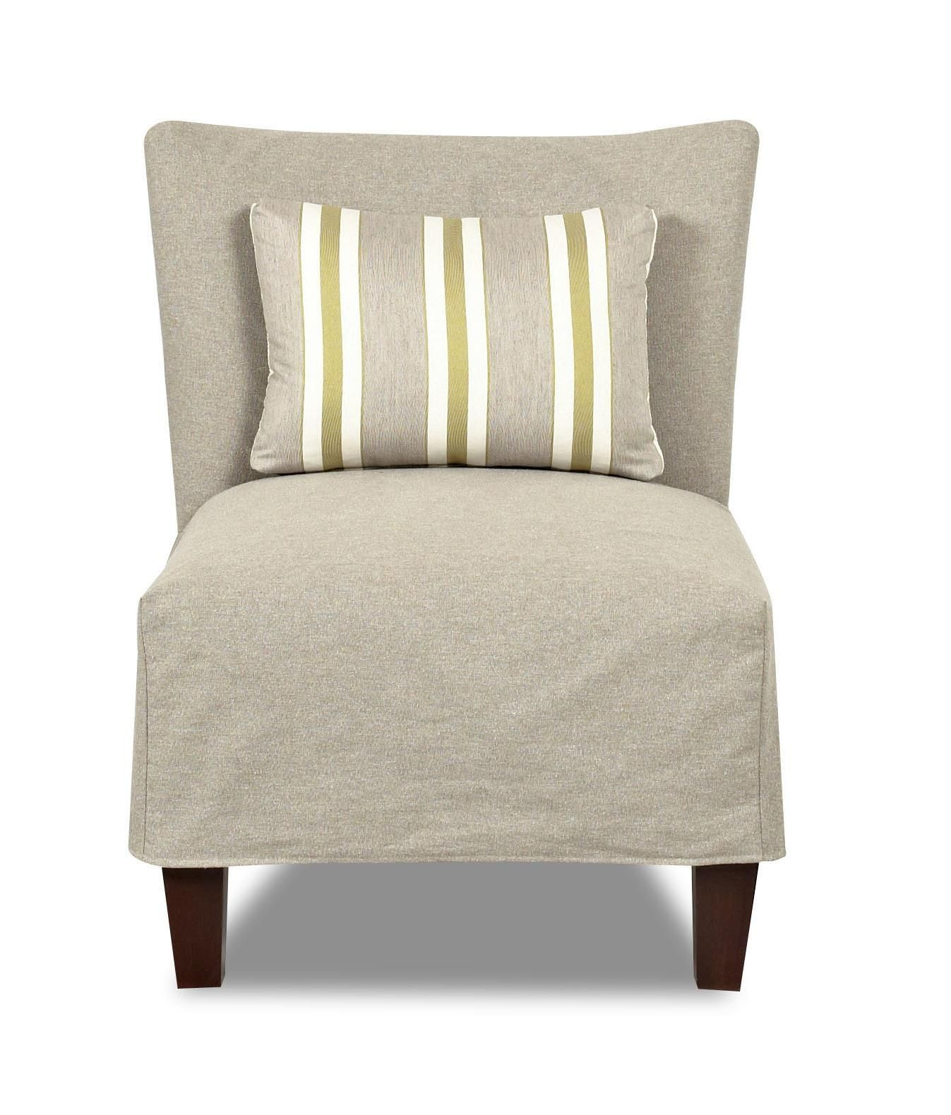 Chairs and Accents Armless Chair by Klaussner Slipcovers