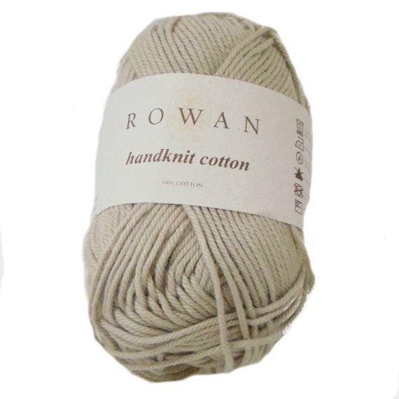 Pantone Linen Shade Cotton Yarn Rowan Handknit by MirabilisThreads, $5.95
