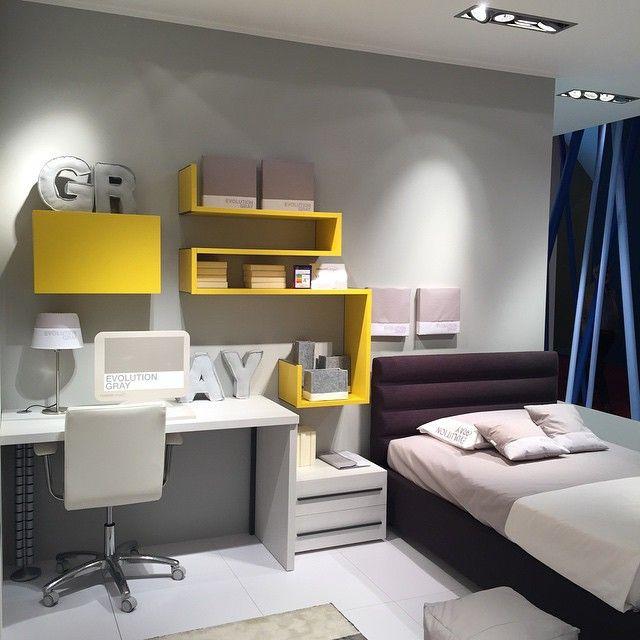 Study Room Decoration Diy: Decoración Tonos Amarillo Y Blanco