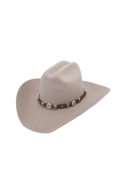 ecd749857084c Resistol 6X George Strait Silver Eagle Chestnut Felt Cowboy Hat ...