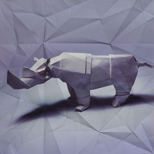 Origamis by Marc Fichou
