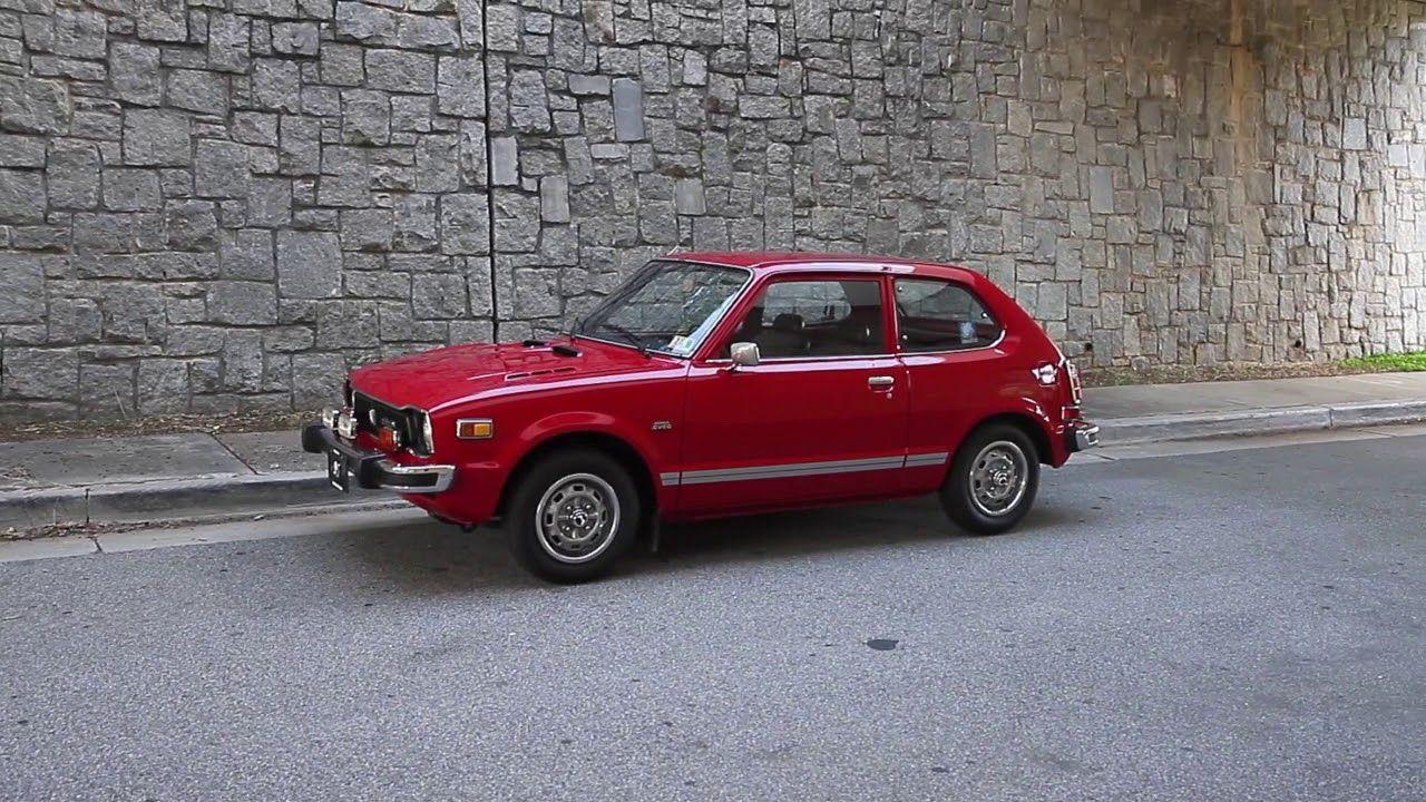 1977 Honda Civic Cvcc For Sale In 2021 Honda Civic Honda Civic