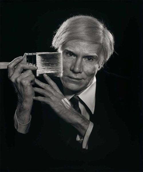 Andy Warhol by Yousuf Karsh [1979]