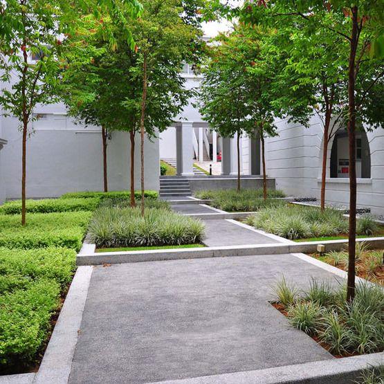 Garden Design With Modern Plant Landscape Ideas Simply: BUKIT TIMAH CAMPUS / ICN Design