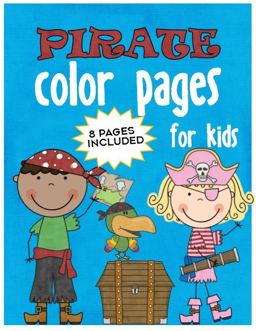 Pirate Coloring Pages | Epic Kids Crafts | Pinterest | Ship map ...