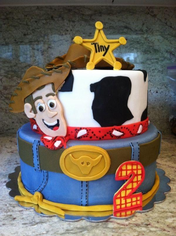 Woody Birthday Cake Woody Birthday Round Birthday Cakes