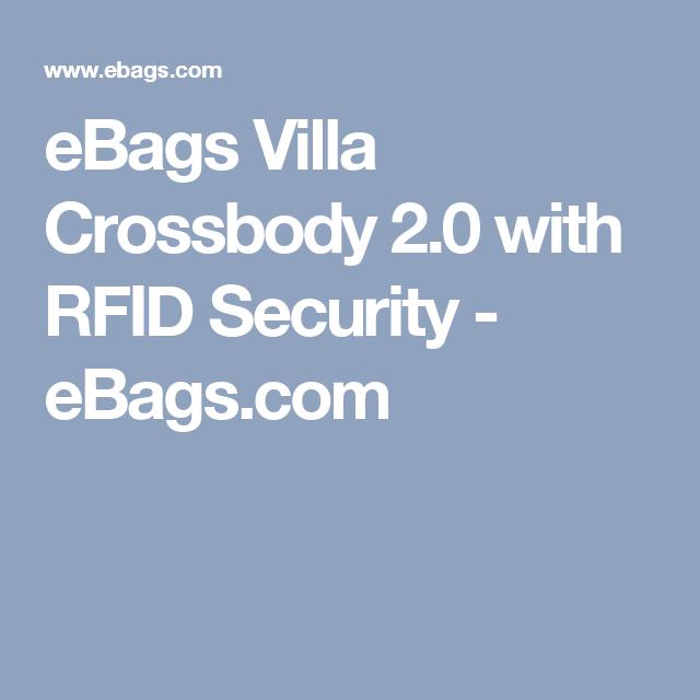 98e01e3a0d7a eBags Villa Crossbody 2.0 with RFID Security - eBags.com