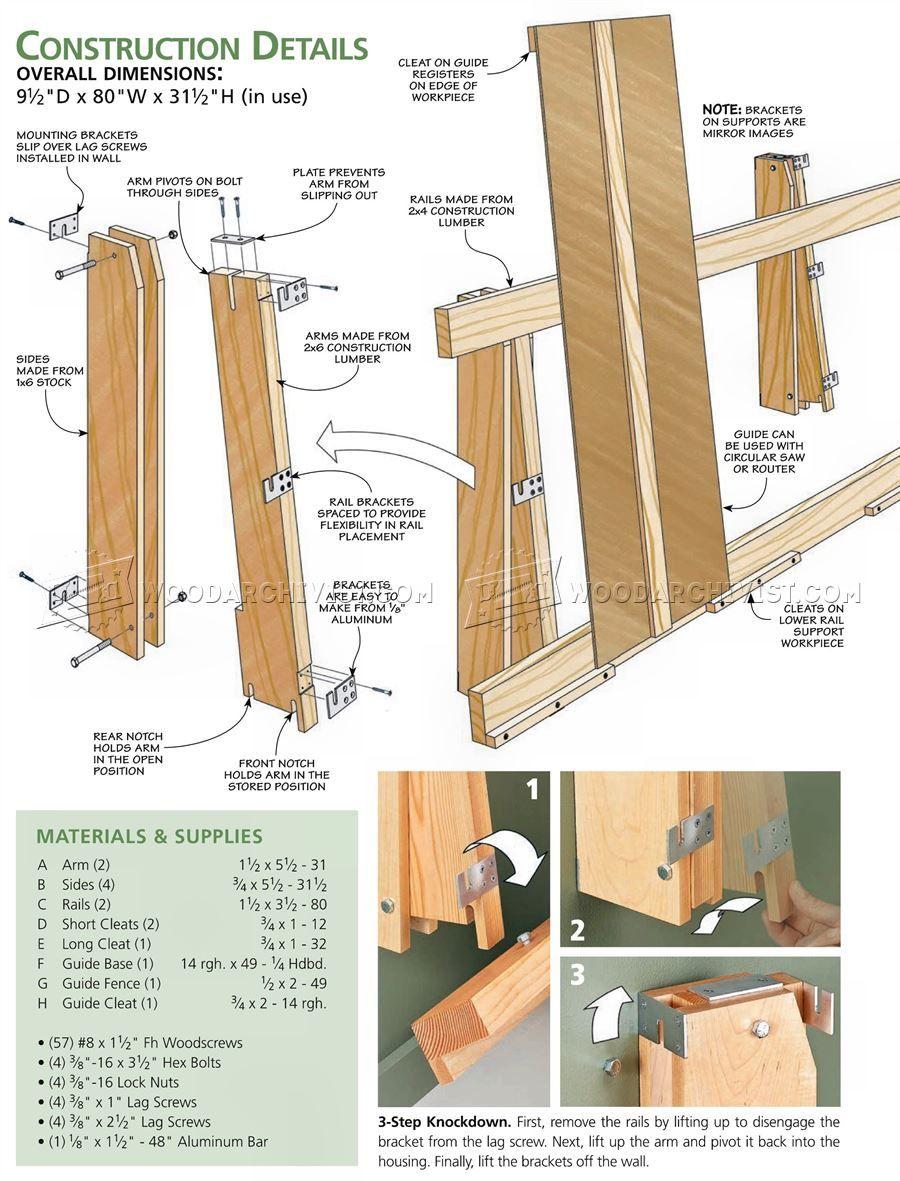 b92e7581c6f0bf28feae8b9c26aefc71 3061 plywood cutting rack circular saw woodworking pinterest