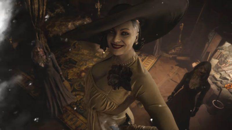 Lady Dimitrescu Trending Images Gallery In 2021 Resident Evil Game Resident Evil Evil