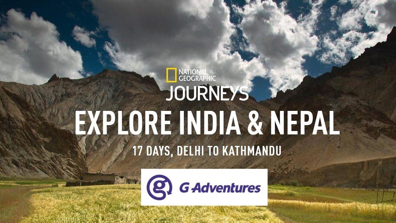 Enjoy this Splendid 17 Days India & Nepal National