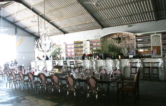 Interior Bar At The Grand Cape Town Restaurant And In Former Boat House Warehouse