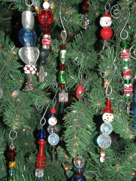 Supplies 34 inch eye pins Christmas charms Curved ornament hooks