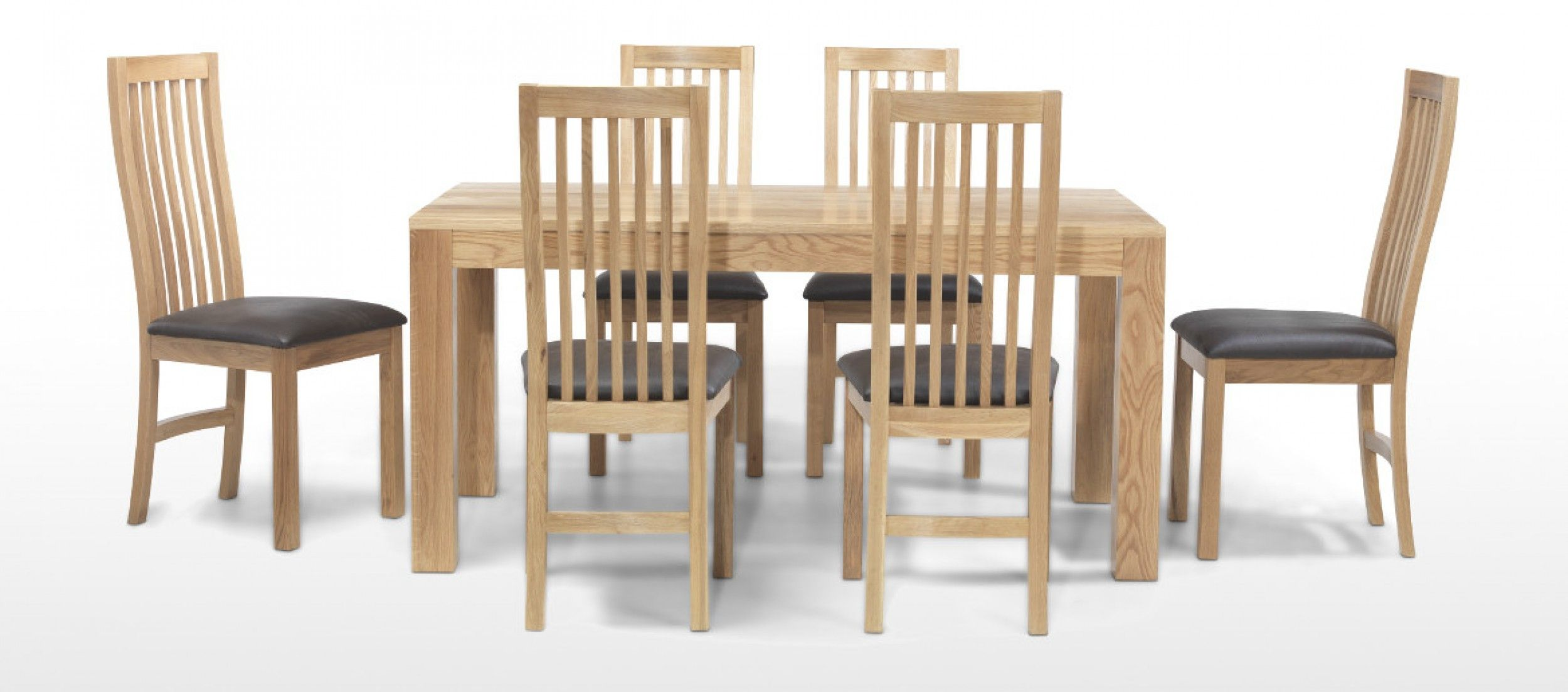 Solid Oak Dining Set 6 Chairs  Go To Chinesefurnitureshop For Mesmerizing Cheap Dining Room Chairs Set Of 6 Design Ideas