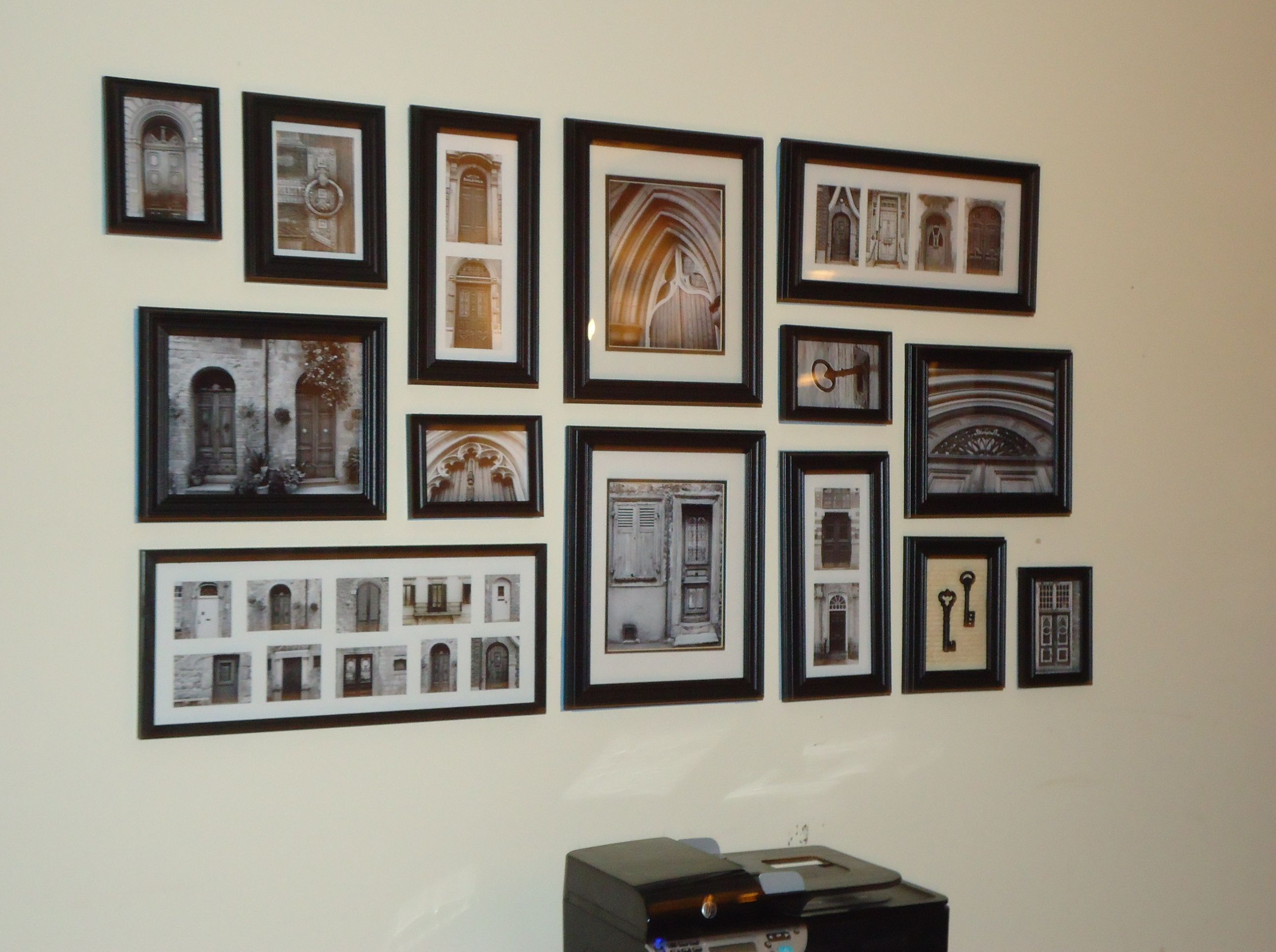 My first successful gallery wall Dream Home Pinterest