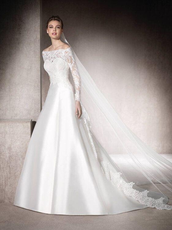 Vestidos de novia St. Patrick que te enamorarán por completo. ¿Cuál es tu favorito?