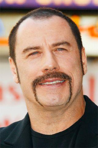 La Bonne Moustache Mustache Styles Hairstyles For Thin Hair John Travolta