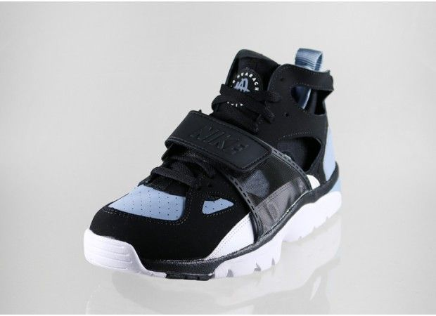 cheaper 70a03 a6e22 Nike Air Trainer Huarache - Black - White - Cool Blue