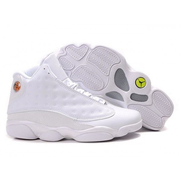air jordan 13 all white for sale