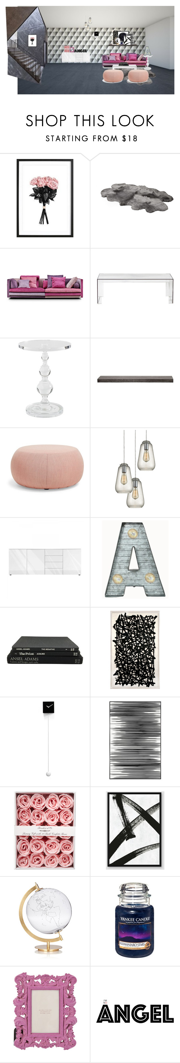 """Sem título #482"" by paradapermitida on Polyvore featuring interior, interiors, interior design, casa, home decor, interior decorating, Kartell, WALL, Arper e Dot & Bo"