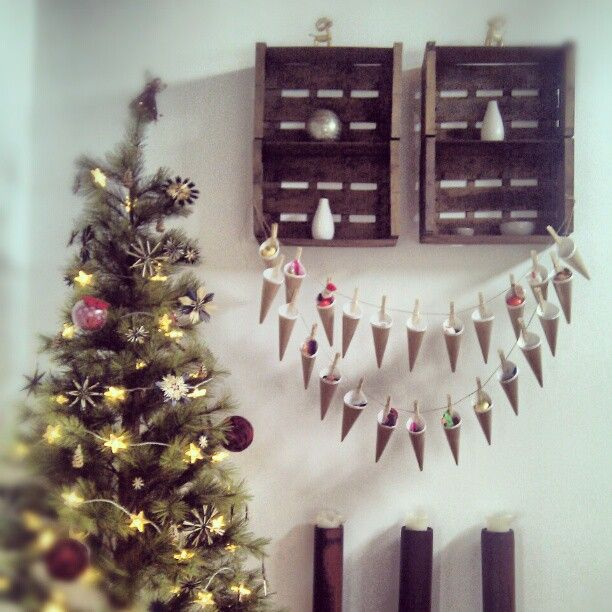 DIY: Adventskalender - calendario de adviento Photo by eileen311