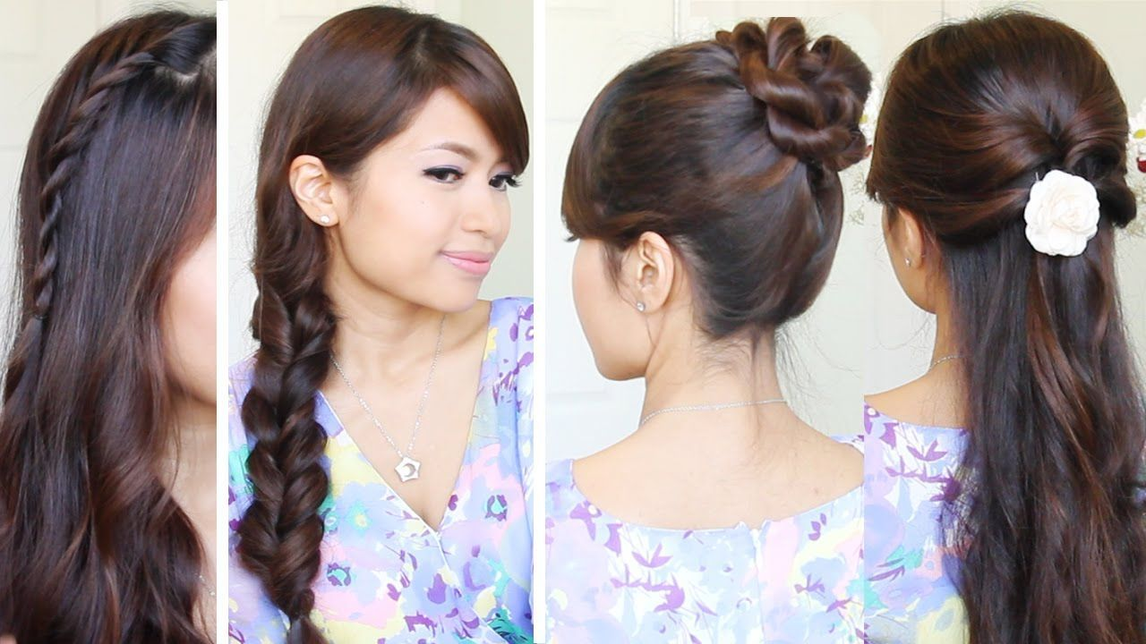 Quick u easy back to school hairstyles hair tutoriali like the