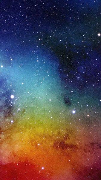 Rainbow Space Credit Them Lockscreens Tumblr Nebula Galaxy