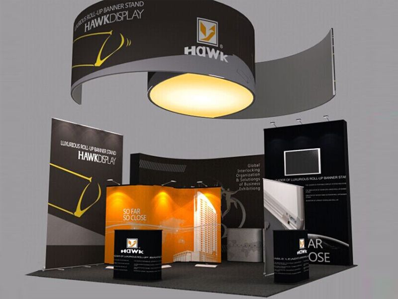 Exhibition Stand Parts : Portable trade show booth design of hawk display the parts of