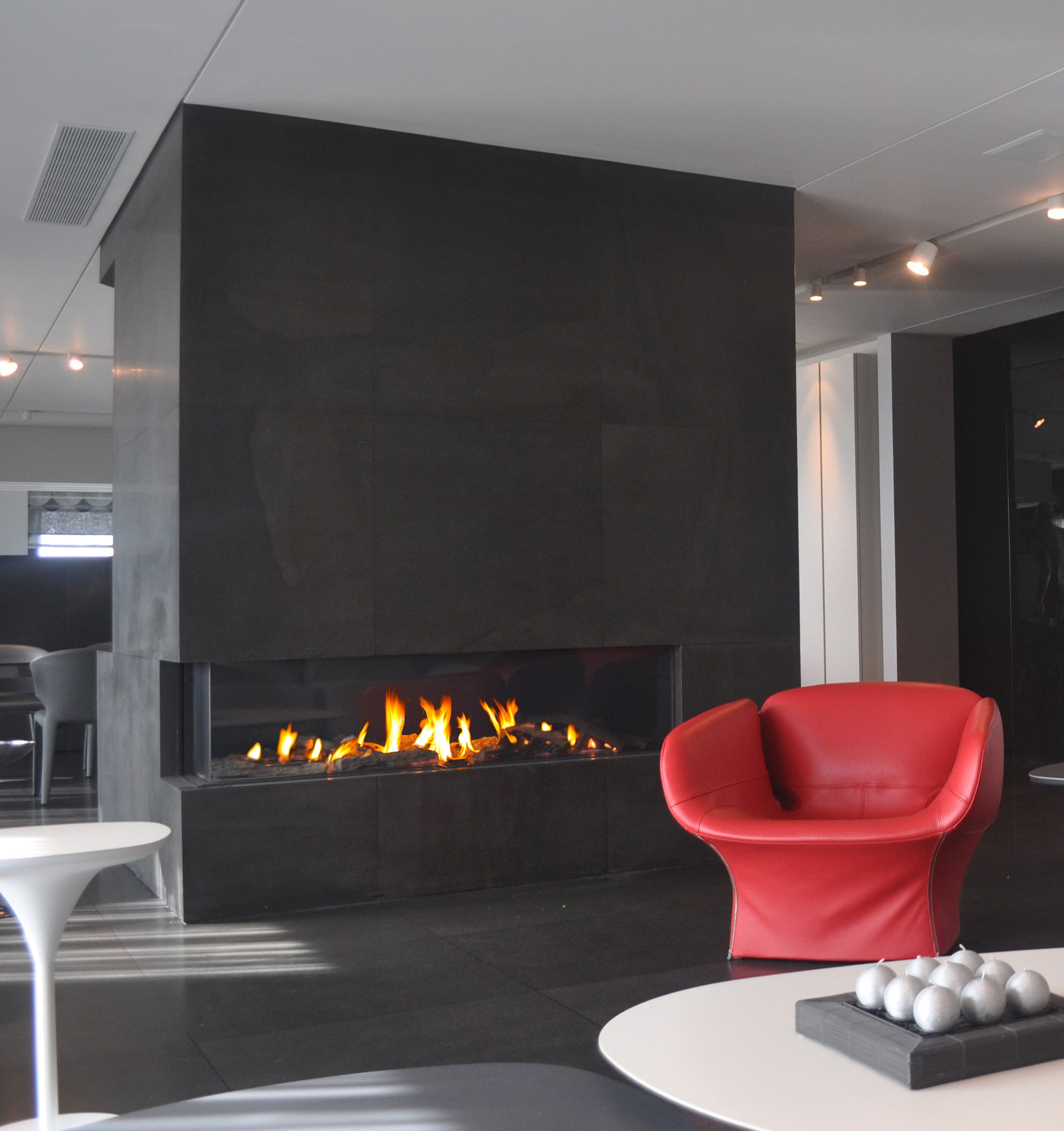 Ortal Usa Clear 170 Ls Ortal Usaclear Lsrs Modern Fireplace