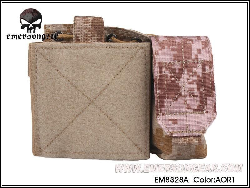 Emerson Saf Admin Panel Map Pouch Molle Military Airsoft Painball Combat Gear Em8328 Leisure Bags Pouches Hunting