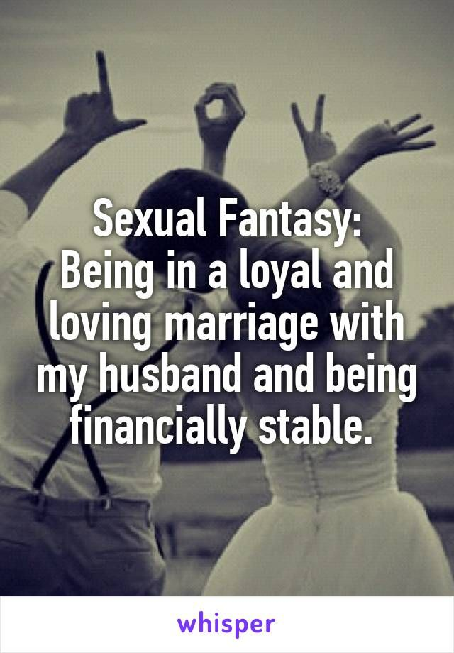 Sexual fantasy in marriage