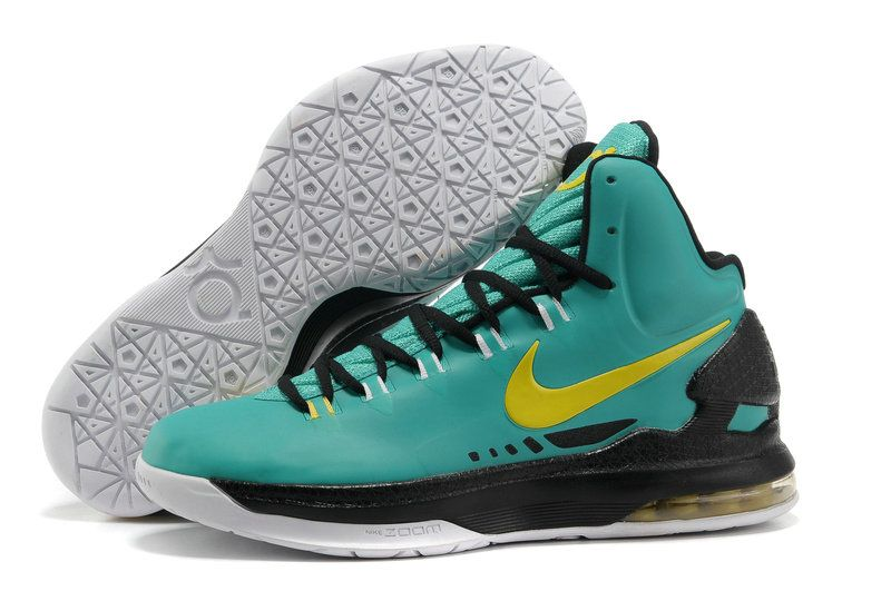check out 5bfc6 f0d9b Nike KD V Atomic Teal Volt Dark Atomic Teal Fiberglass 554988 300