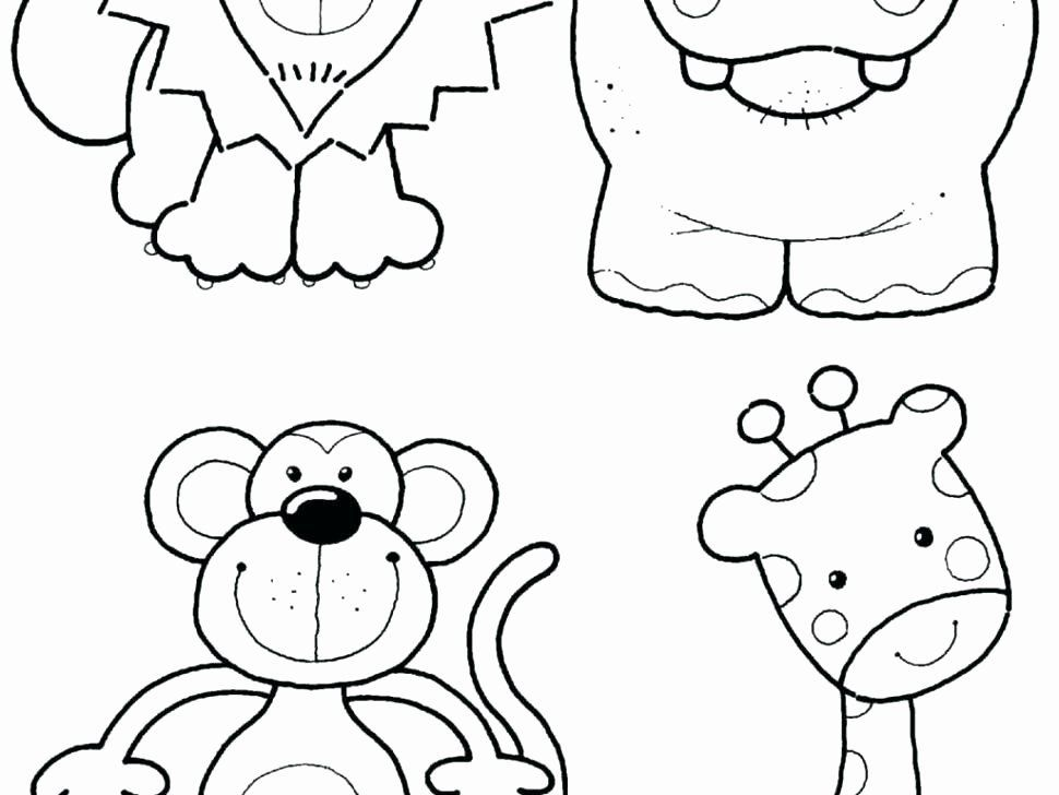 Coloring Pages Zoo Animals Fresh Zoo Animal Coloring Pages For Preschool Zoo Animal Coloring Pages Zoo Coloring Pages Giraffe Coloring Pages