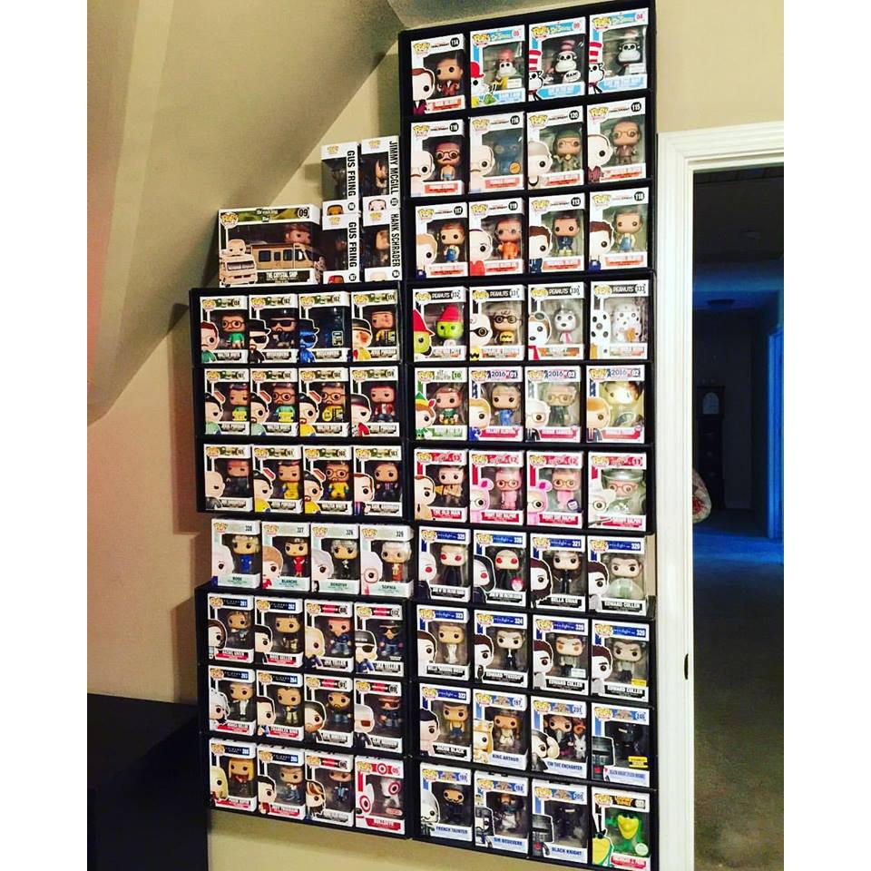Funko Pop Display Shelf For Lightweight Vinyl Toys Display Geek Inc Funko Pop Display Pop Display Funko Pop Shelves