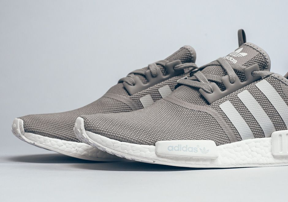 adidas NMD R1 Grey White | SneakerNews.com