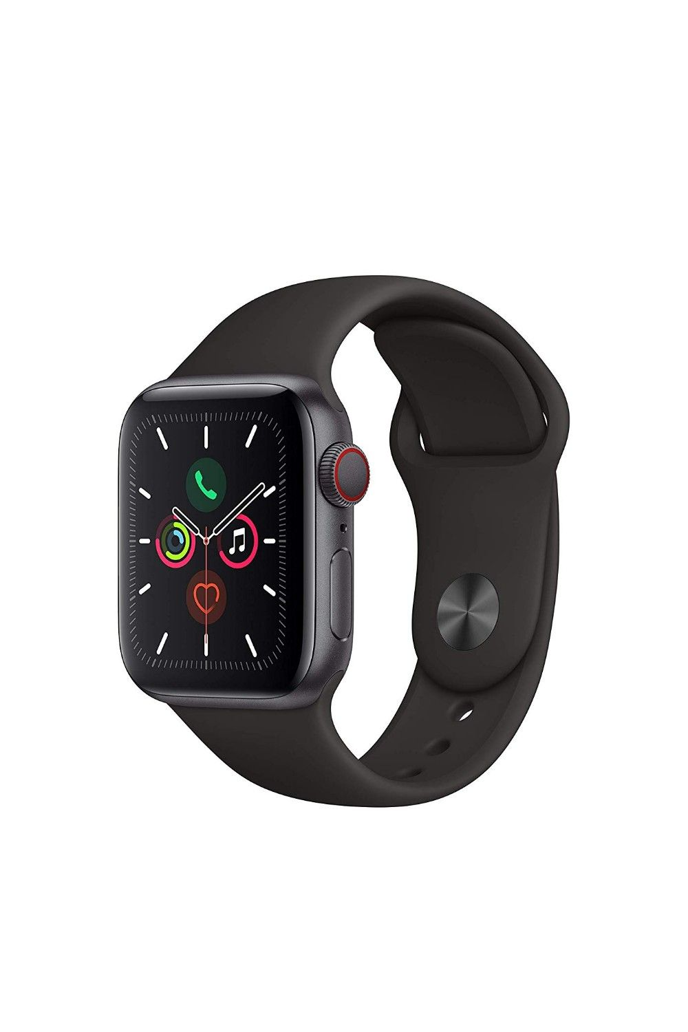 Apple Watch Gold Stainless Steel Case with Sport Band in