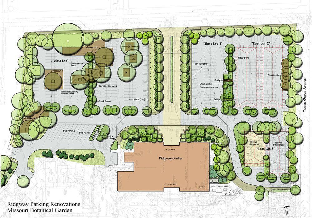 Fresh parking lot design with missouri botanical garden for Lot plan search