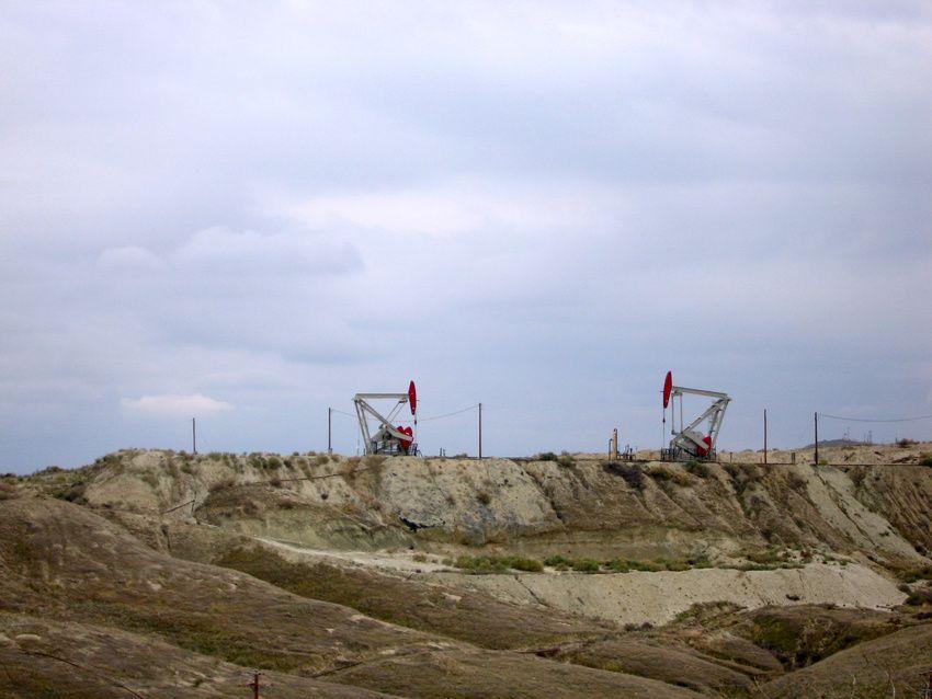 Taft, CA Oil Fields