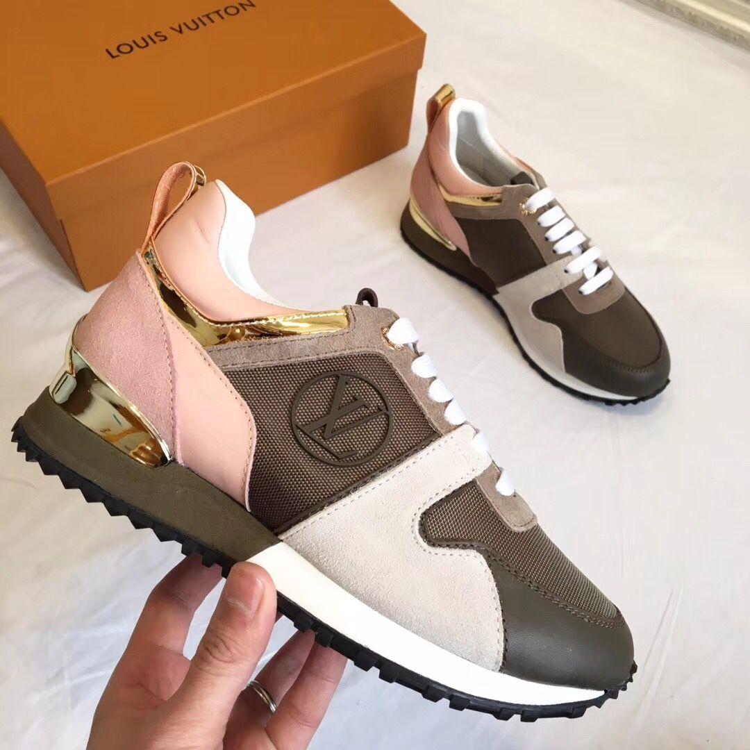 Louis Vuitton lv woman sneakers sport