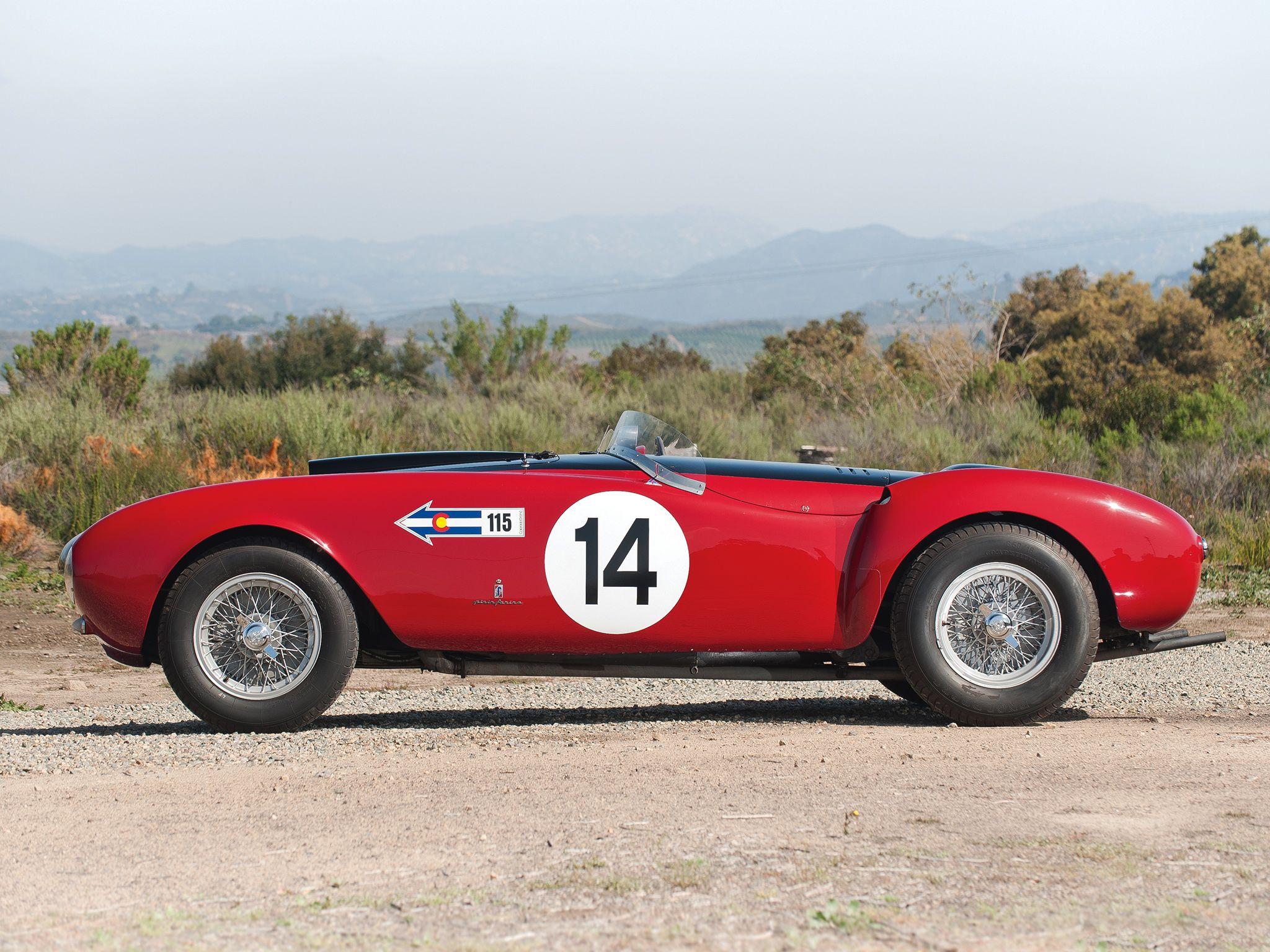 Na Prodaju 1954 Ferrari 375 Mm Ferrari Pony Car Ferrari Car