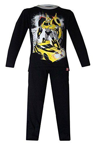 Boys Transformers Pyjamas 5-6 Years