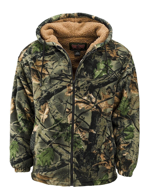 GENTS OAK TREE CAMO WATERPROOF BREATHABLE COAT Mens fleece inner hunting jacket
