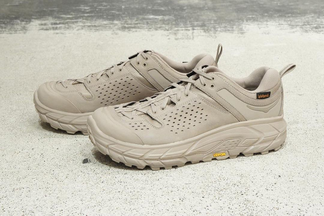 45764ed1cdc Engineered Garments Hoka One One Tor Ultra Low wp collab sneaker shoe drop  release date vibram runner fall winter 2018 31320 jpy 220 usd price vibram  info ...