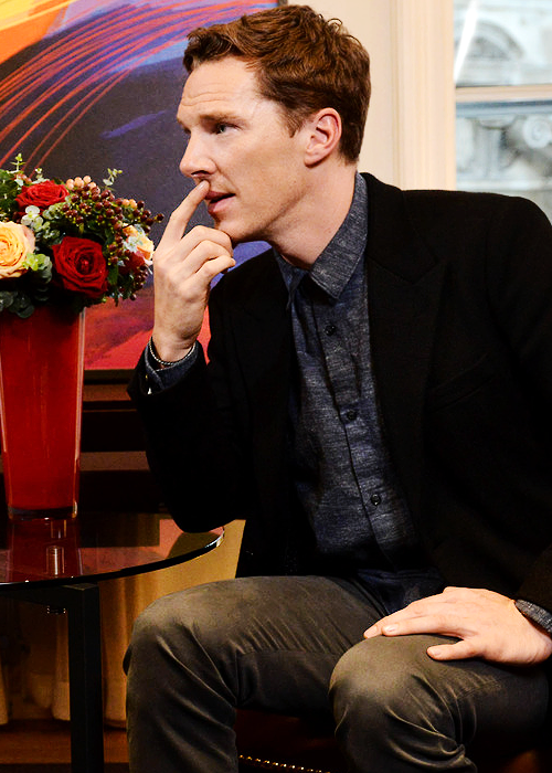Benedict Cumberbatch on The Andrew Marr Show 9th November 2014