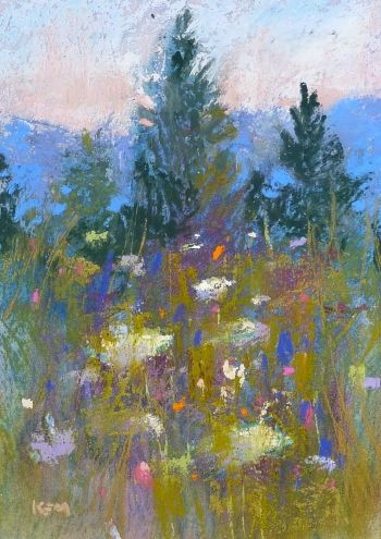 When is a Painting Finished? Try these Tips, painting by artist Karen Margulis